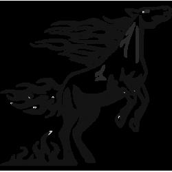 2027. Конь