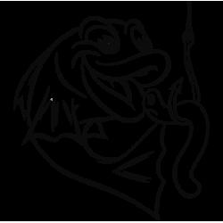2035.  Рыбка с червячком