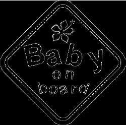 2180. BABY on BOARD (Ребенок на борту)