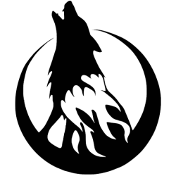 2195. Воющий волк