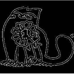 2265. Simon's Cat  с медалью