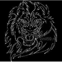 2295. Голова льва