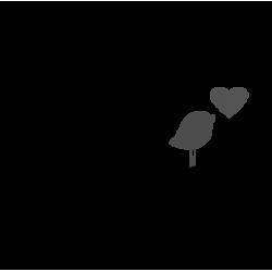 2364. Дерево с птичкой