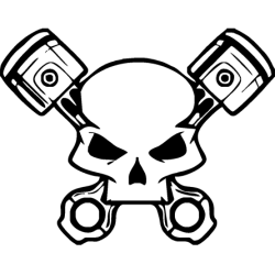 2459. Череп с поршнями