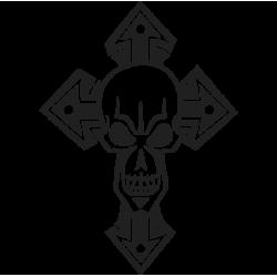 2461. Череп и крест