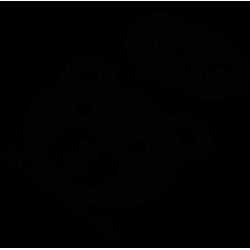 2587. Мишка HELLO