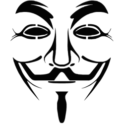 2730. Маска Гая Фокса Анонимус
