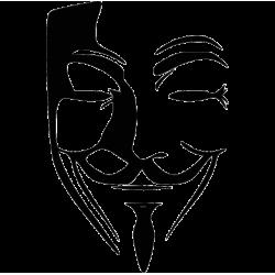 2731. Маска Гая Фокса Анонимус