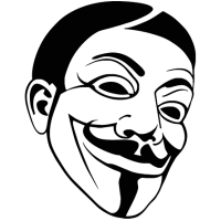 2734. Маска Гая Фокса Анонимус