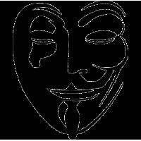 2747. Маска Гая Фокса Анонимус