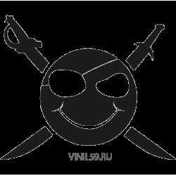 2780. Смайлик пират