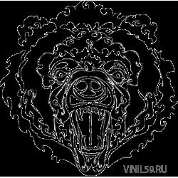 2901. Голова медведя