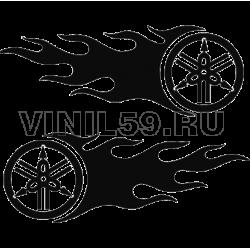 3089.   Эмблема  YAMAHA