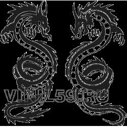 3213. Два дракона