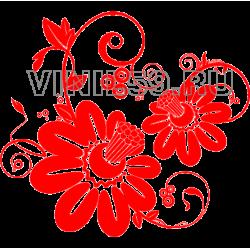 3302. Цветочный орнамент