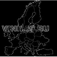 3335. Карта Европы