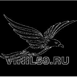 3409. Летящая птица