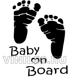 3487. Ребенок на борту   Baby on Board