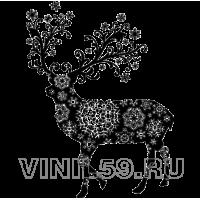 3614. Новогодний олень