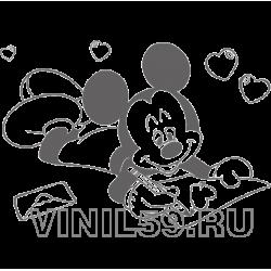 3683. Влюбленный Микки Маус