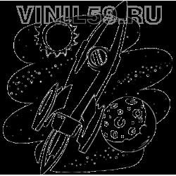 3707. Космический пейзаж