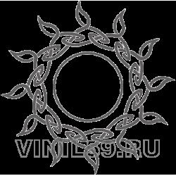 3716. Кельтский  орнамент Солнце