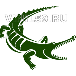 3874. Крокодил