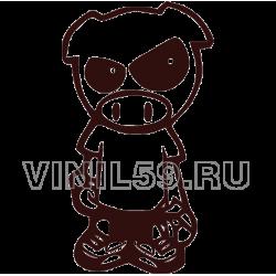 4044. Evil Rally Pig