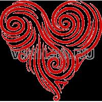 4080. Сердечный орнамент