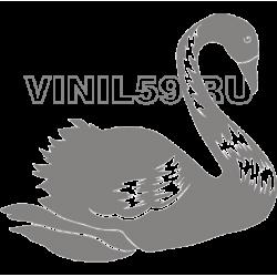 4100. Лебедь