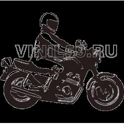 4206. Мотоцикл
