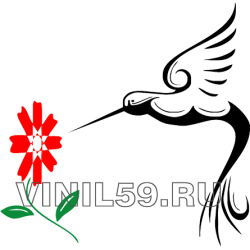4326. Цветок c калибри