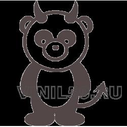 4424. Devil Panda (панда дьявол)