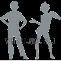 4593. Танцующая пара