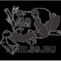 4626. Панда с письмом