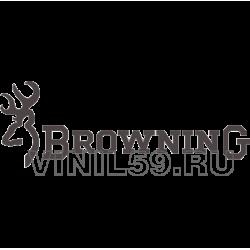 4800. Логотип Browning. Браунинг.