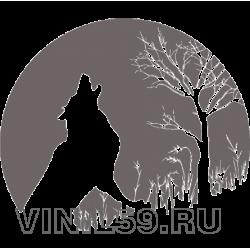 4823. Воющий волк