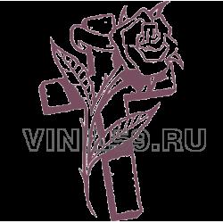4953. Крест и роза