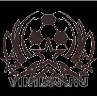 4977. Футбольная эмблема