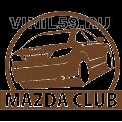 5029. MAZDA CLUB. Мазда клуб