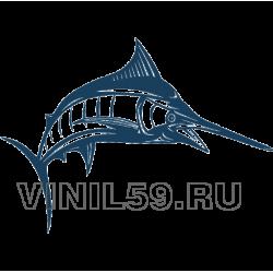 5090. Рыба  Голубой Марлин