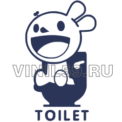 5134. Указатель туалет
