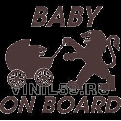 5139. Ребенок на борту   Baby on Board