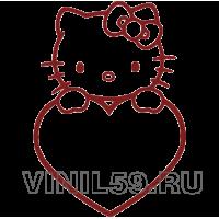 5159.  Kitty с сердцем