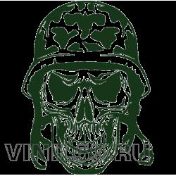 5190. Череп в шлеме