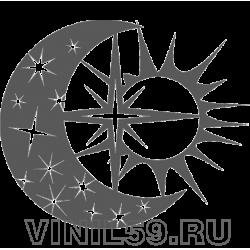 5225. Луна, Солнце и 3везда