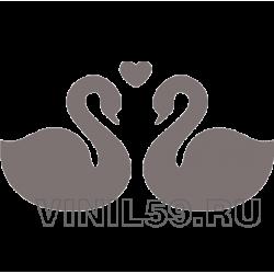5318. Лебеди