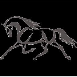 5346. Конь