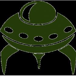5352. Инопланетная тарелка, НЛО