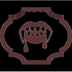 5353. Зубы вампира, эмблема